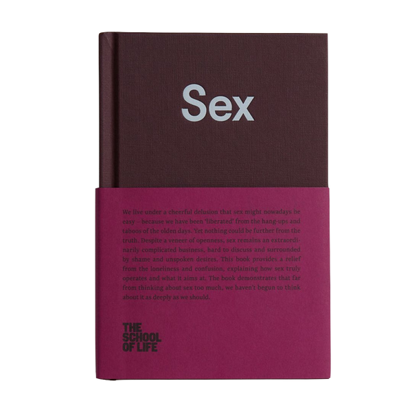 Sex book by The School of Life London discover now at Cuemars