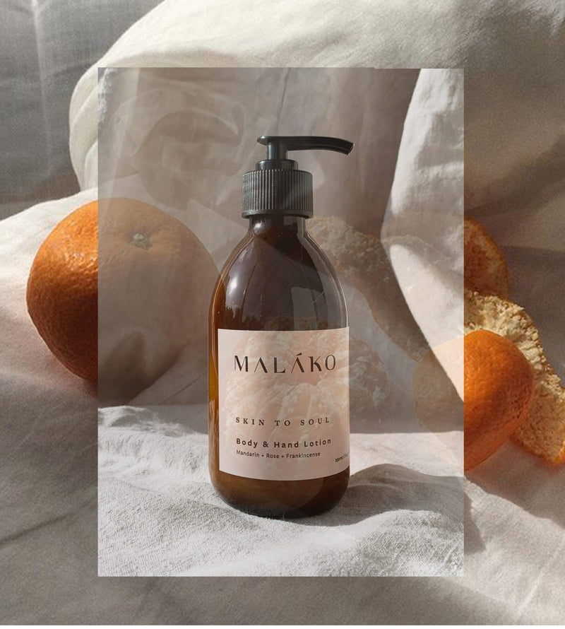Malako skincare Organic Body & Hand Lotion for stretch marks Cuemars