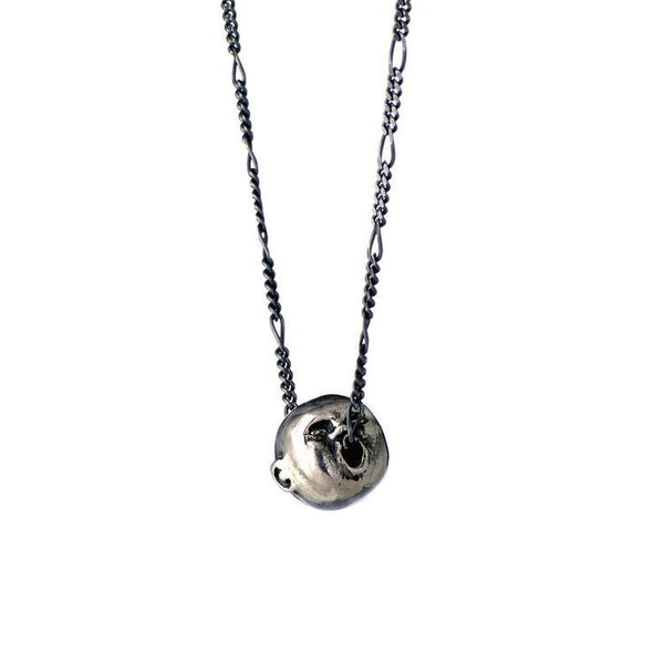 Momocreatura Spirit of Love Oxidised Silver Pendant Necklace
