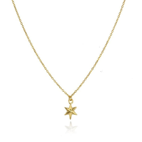 Mini Star necklace gold