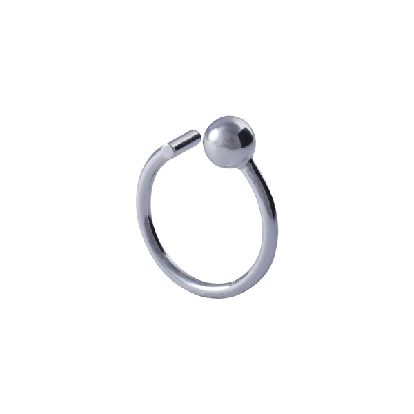 Thalia Adjustable Sterling Silver Ring | Keep it Peachy | Discover now at Cuemars