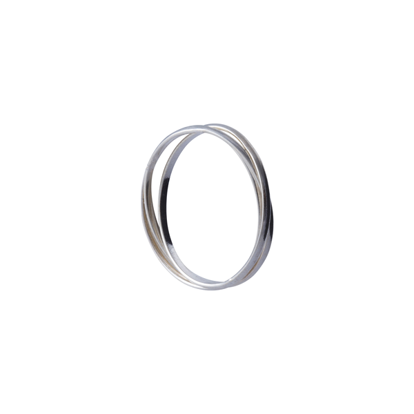 Tabitha Sterling Silver Ring | Keep it Peachy | Discover now at Cuemars