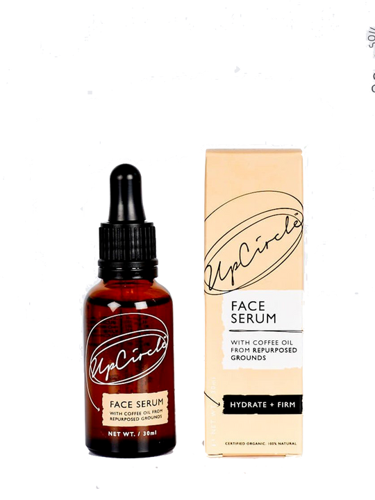 ORGANIC FACE SERUM WITH COFFEE OIL