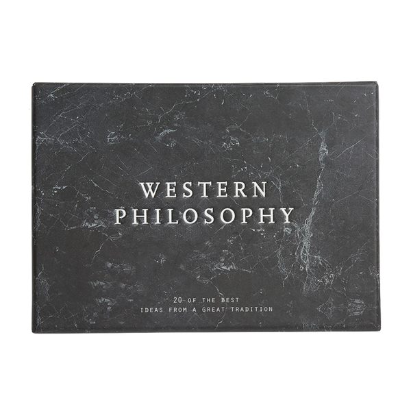 Western Philosophy Cards by The School of Life London discover now at Cuemars