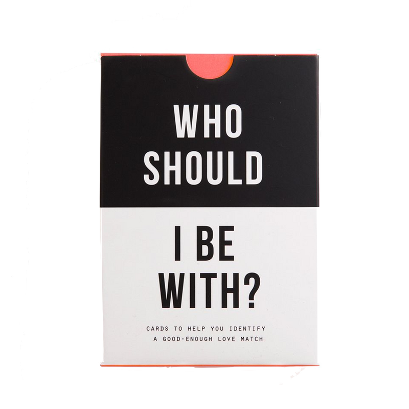 Who Should I Be With Card Game by The School of Life discover now at Cuemars