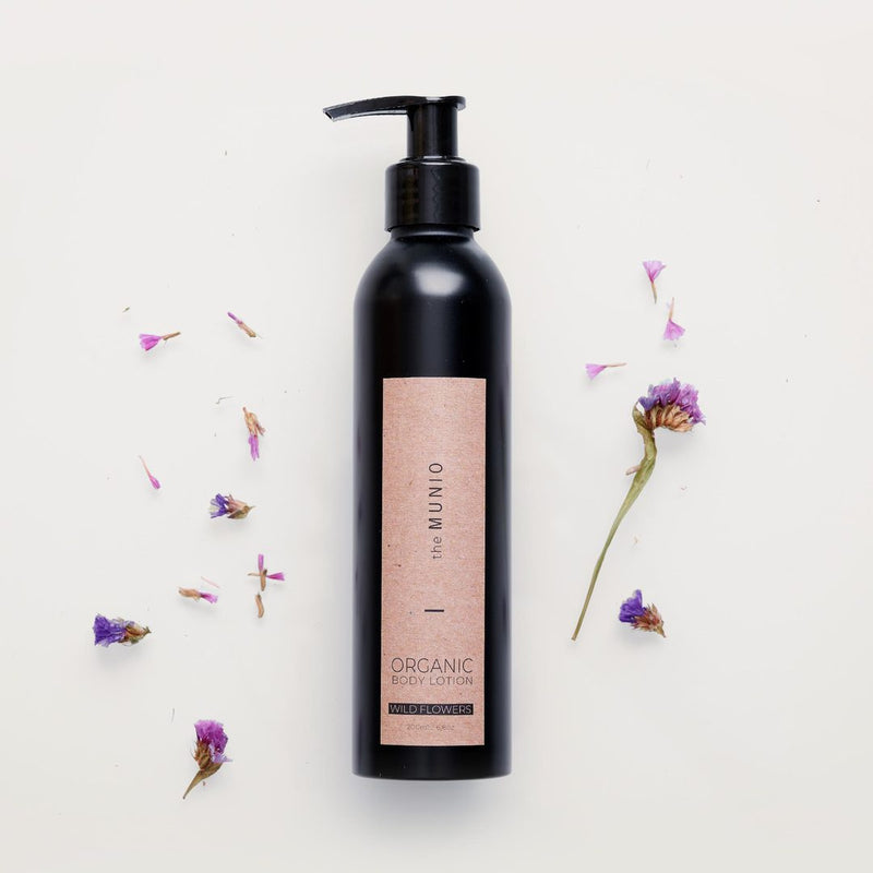 WILD FLOWERS - ORGANIC BODY LOTION