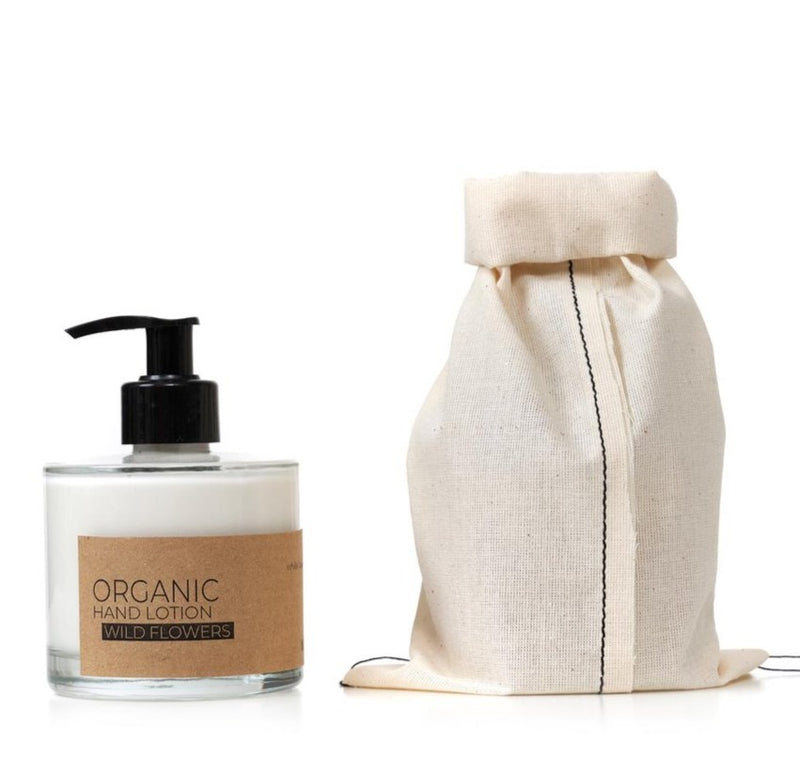 The Munio Organic Hand Lotion with Wild Flower Natural Skin Care