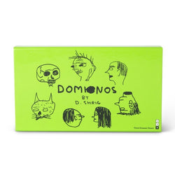 Illustrated Domino Set Gift Box by David Shrigley x Third Drawer Down