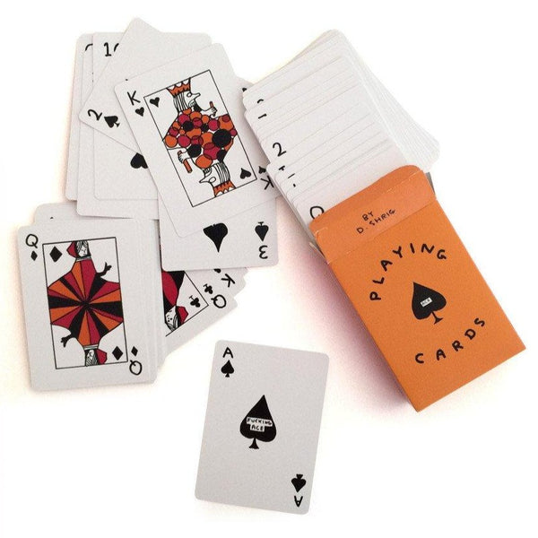 Illustrated Playing Cards by David Shrigley x Third Drawer Down