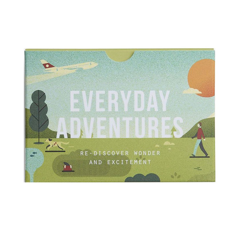 The School of Life Everyday Adventures prompt cards available at Cuemars