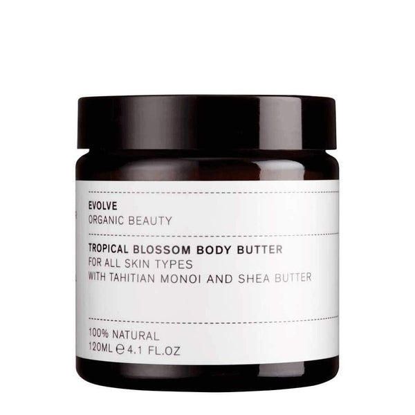 Picture of Evolve Organic Beauty's Tropical Blossom Body Butter available now at cuemars.com