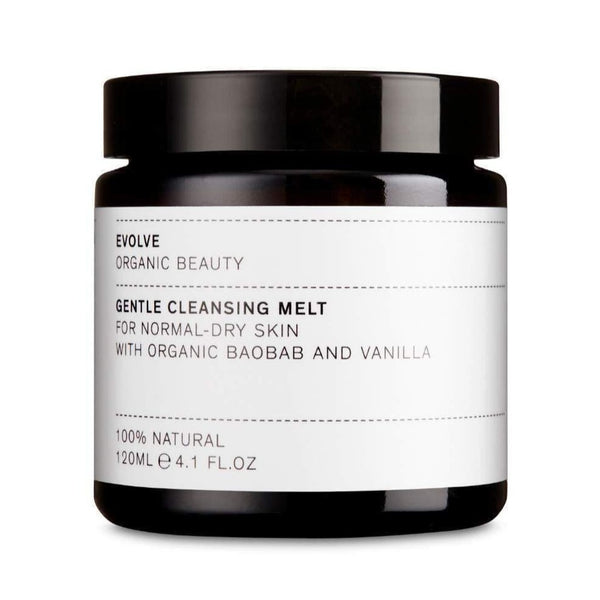 Product Picture of Evolve Organic Beauty's Award Winning Gentle Cleansing Melt available now at cuemars.com