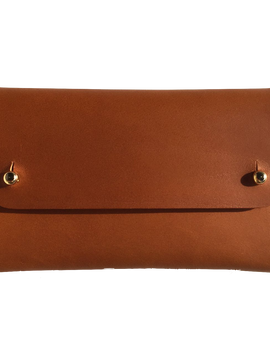 Handmade Brown Leather Wallet