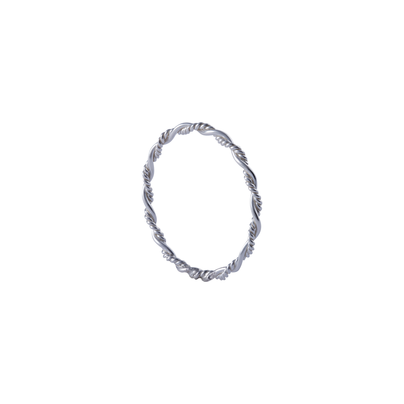 Amelie Sterling Silver Stacking Ring | Keep it Peachy | Discover now at Cuemars