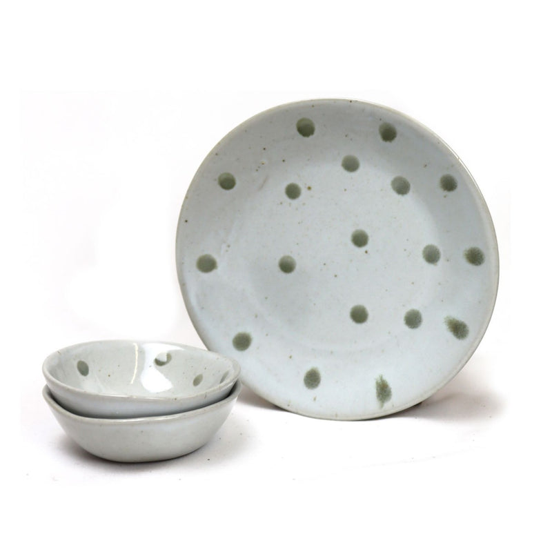 Stoneware Plates and Dishes by House Doctor - Dotted Pattern | Discover Kitchenware now at cuemars.com
