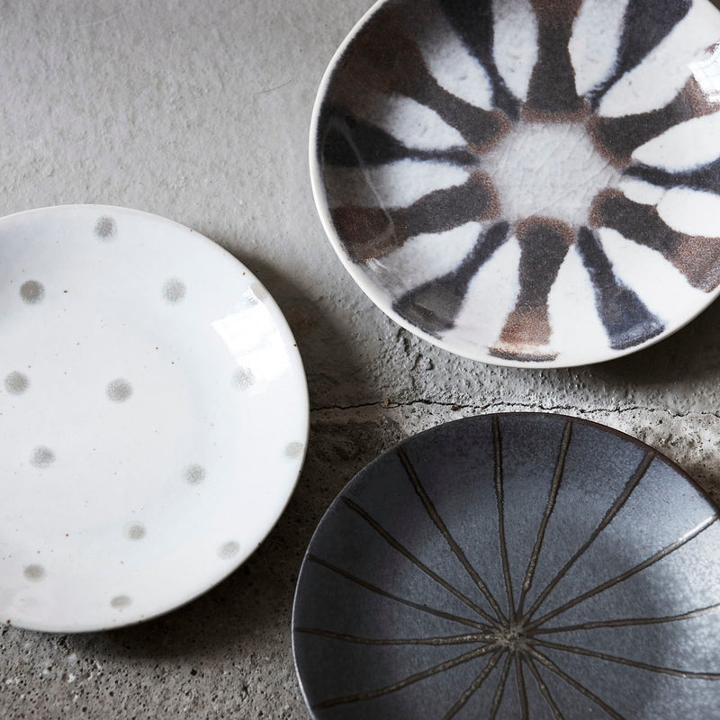 Lifestyle Photo of Stoneware Plates by House Doctor - Multi Mix and Match | Discover Kitchenware now at cuemars.com
