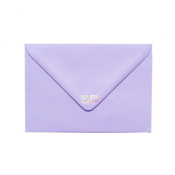 purple envelope by mean mail