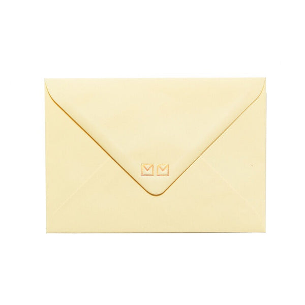 yellow envelope included by mean mail