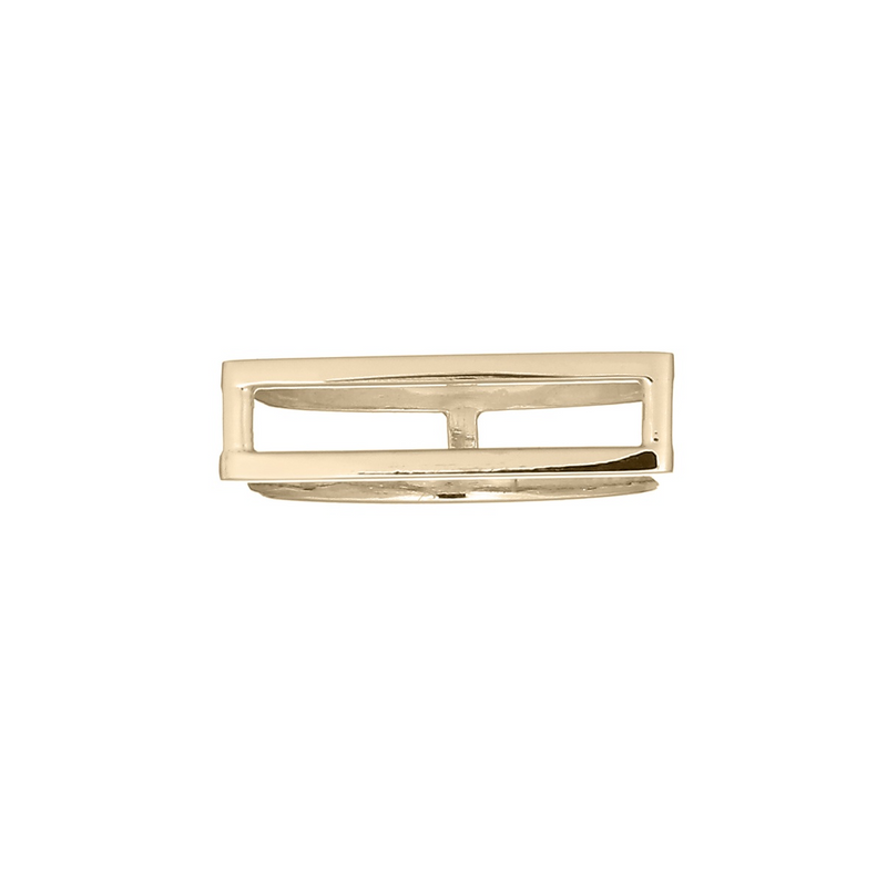 Meghan Hexagon Gold Ring | Keep it Peachy | Discover now at Cuemars