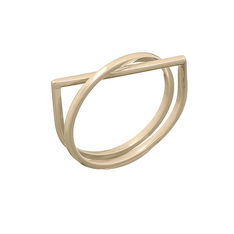 Sara Gold Ring | Keep it Peachy | Discover now at Cuemars