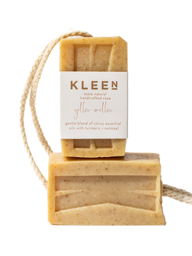 Exfoliating Natural Body Soap - Mellow Yellow