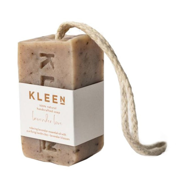 "Vegan Hand Soap Bar by Kleen Soaps ""Lavender Love"". Available at Cuemars"