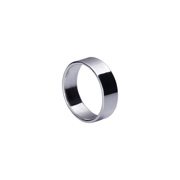 Zara Silver Band Ring | Keep it Peachy | Discover now at Cuemars