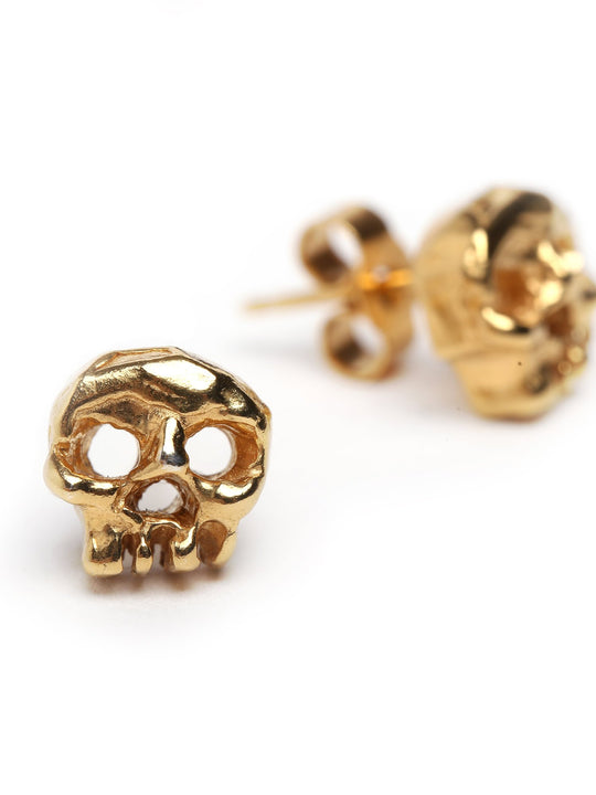 Silver | Gold Phantom Skull Studs Earrings