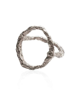 Sterling Silver Siska ring - Illusion collection