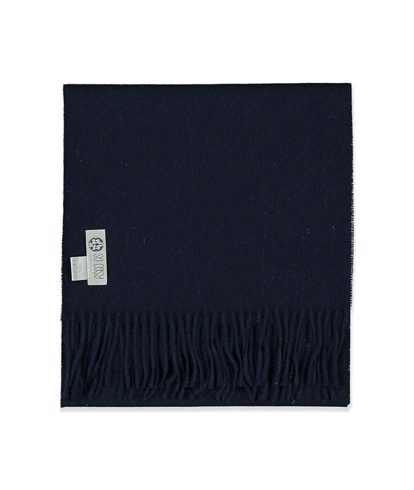 Baby Alpaca Scarf in Navy by So Cosy London | Discover now at Cuemars