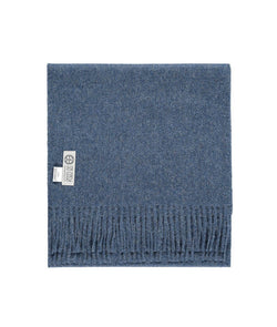 Baby Alpaca Scarf in Blue by So Cosy London | Discover now at Cuemars