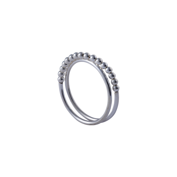 Selena Sterling Silver Ring | Keep it Peachy | Discover now at Cuemars