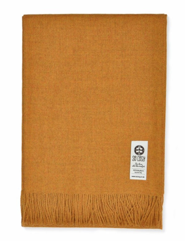 handmade super soft baby alpaca throw made by so cosy available online and at the shop