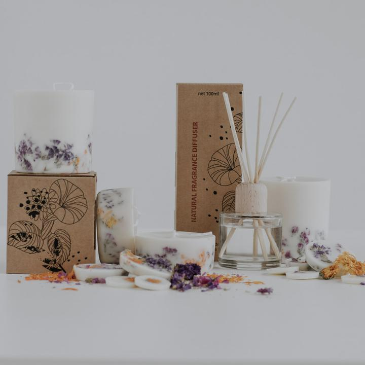 The Munio Sustainable Oil Based Diffuser Wild Flowers