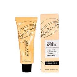 Upcircle face coffee scrub citrus blend perfect for dry skin
