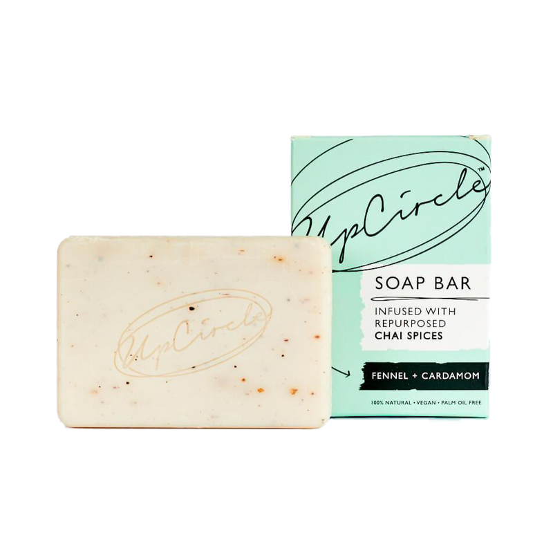 Certified organic fennel and cardamon face and body natural soap
