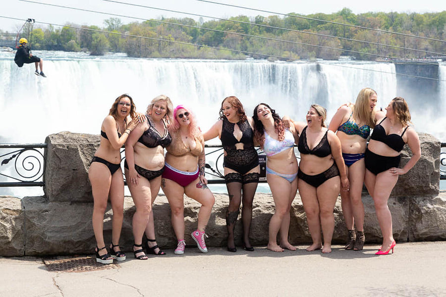 What Standing In Front of Niagara Falls in My Underwear Taught Me About Self-Love
