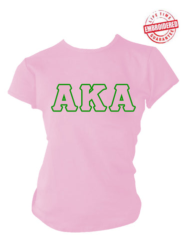 c9f850a5c Alpha Kappa Alpha Basic Greek Letter T-Shirt