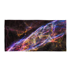 Veil Nebula (Beach Towel)