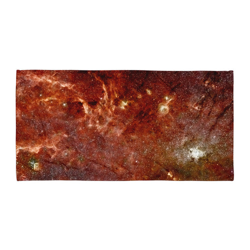 Galactic Core (Beach Towel)
