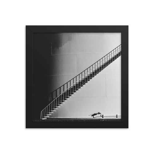Stairwell from Hell (Framed)