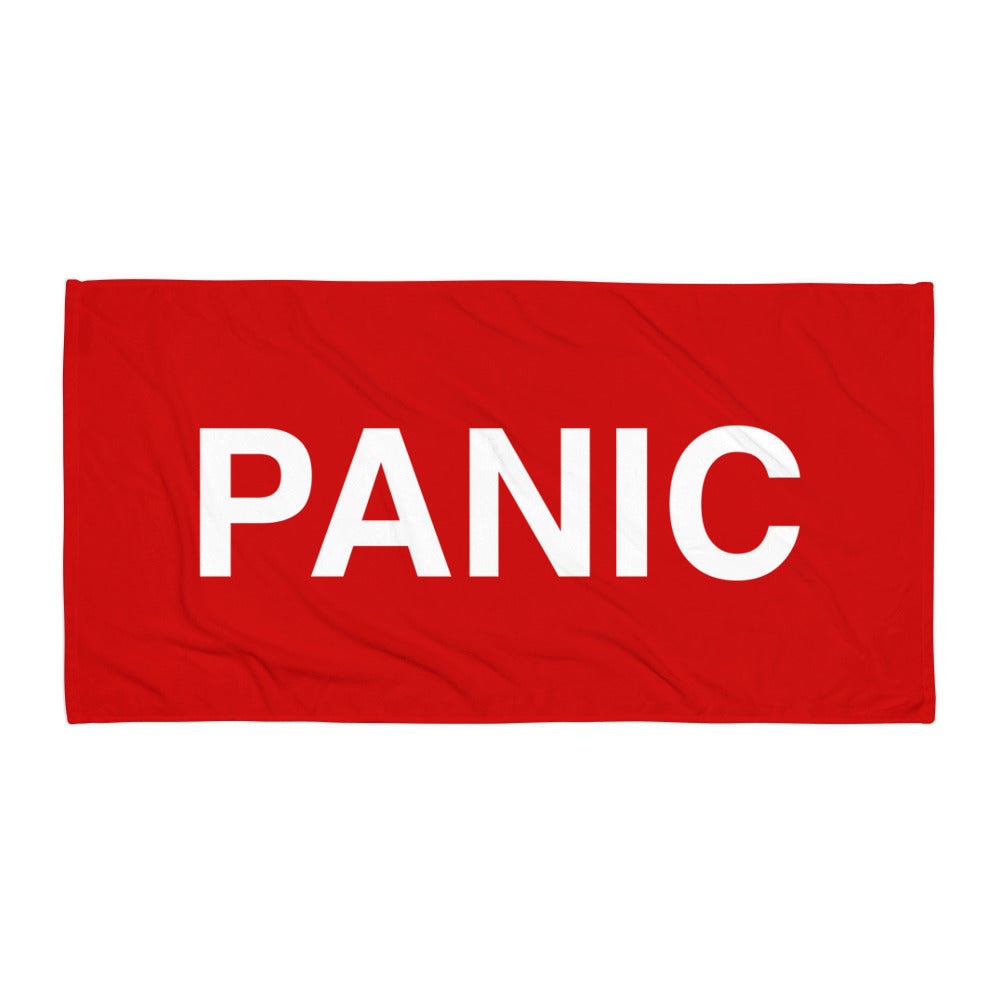 Panic (Beach Towel)