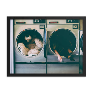Laundry Day (Framed)