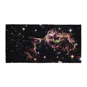 Supernova Remains (Beach Towel)