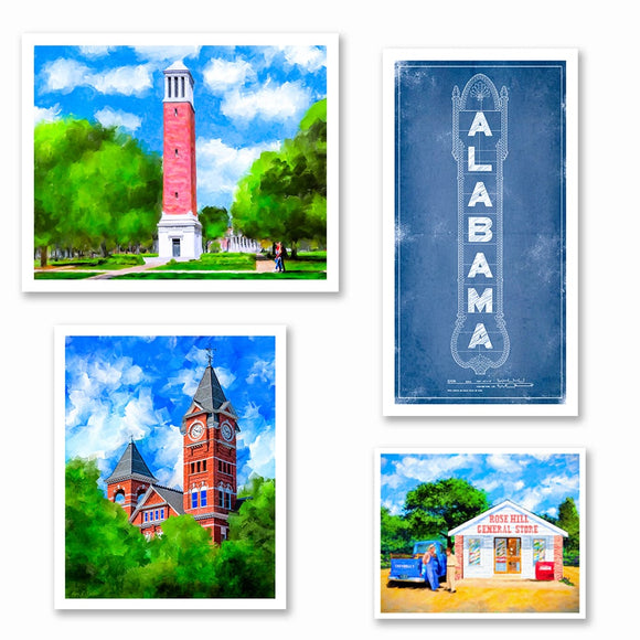 Alabama Art Prints