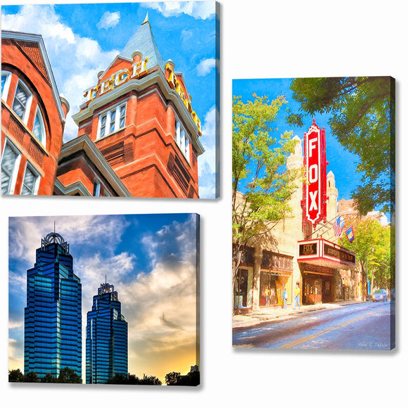 Atlanta Canvas Prints
