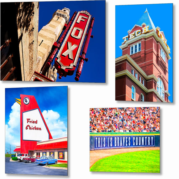 Atlanta Metal Prints