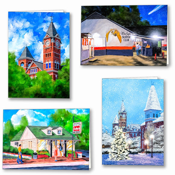 Auburn Greeting Cards