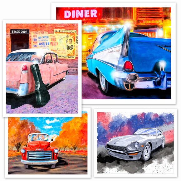 Automotive Art Prints