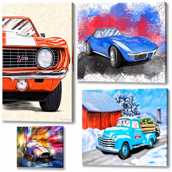 Automotive Canvas Prints